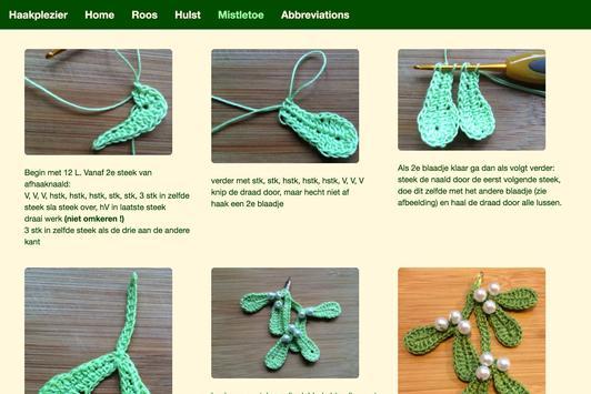 Kerst haken: corsage apk screenshot