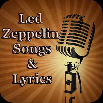 Led Zeppelin Songs&Lyrics poster