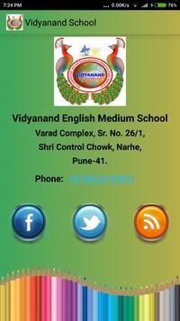Vidyanand School Pune apk screenshot