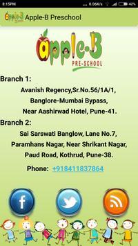 Apple B Preschool Pune apk screenshot