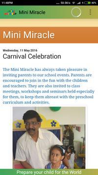 Mini Miracle Preschool Pune apk screenshot
