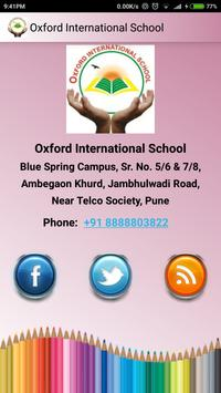 Oxford International School apk screenshot