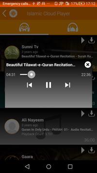 Islamic Cloud Player screenshot 3