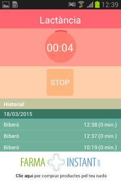 Lactancia - Tomas de tu bebé screenshot 1