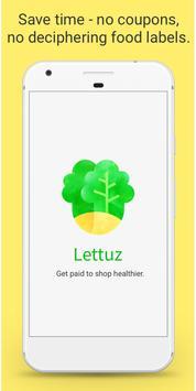 Lettuz: Shop Healthy, Get Paid (Unreleased) apk screenshot