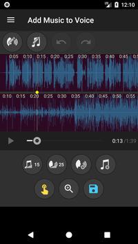 Add Music to Voice تصوير الشاشة 2