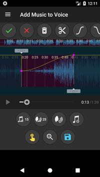 Add Music to Voice تصوير الشاشة 3
