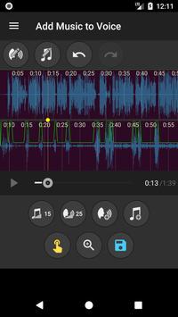 Add Music to Voice تصوير الشاشة 4