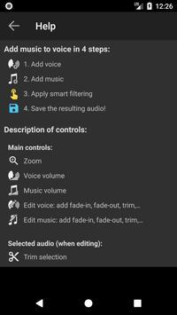Add Music to Voice تصوير الشاشة 7
