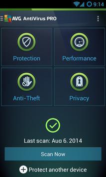 AVG AntiVirus for Samsung poster