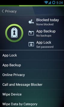 AVG AntiVirus for Samsung apk screenshot