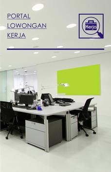 Portal Lowongan Kerja poster