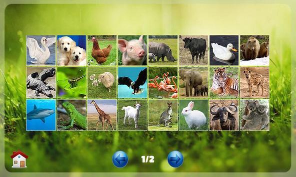 Belajar Membaca Binatang ảnh chụp màn hình 1