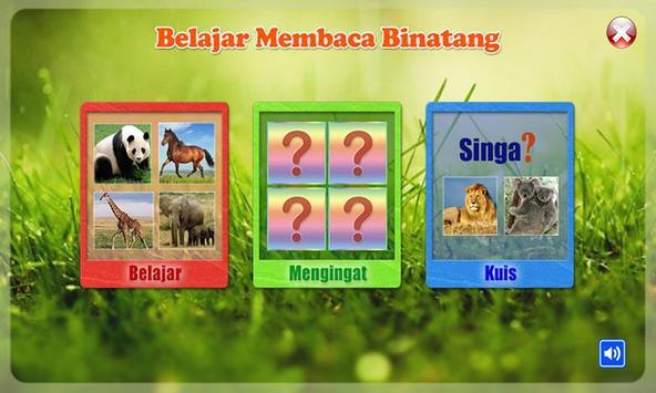 Belajar Membaca Binatang ảnh chụp màn hình 6