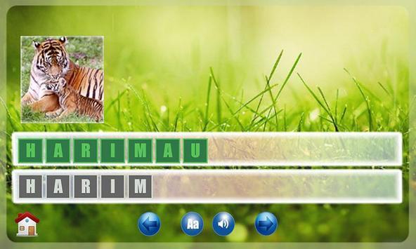 Belajar Membaca Binatang ảnh chụp màn hình 9
