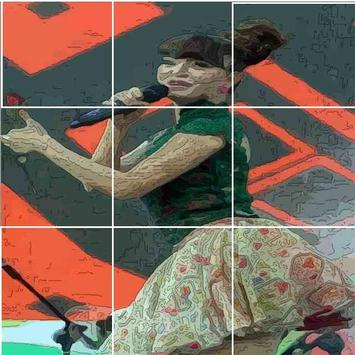 Zaskia Gotik Puzzle apk screenshot