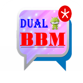 Dual BBM Android icon