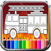 Game Mewarnai Mobil Pemadam Kebakaran Gratis For Android Apk Download