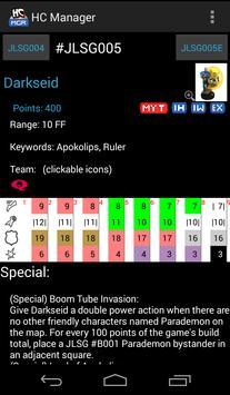 Heroclix Manager Free screenshot 1