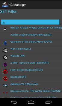 Heroclix Manager Free screenshot 5