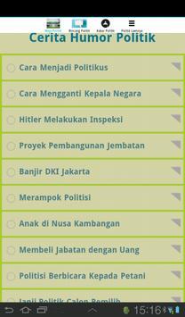 RAJA HUMOR (JAMOR) POLITIK apk screenshot