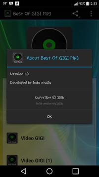 Best Of GIGI Mp3 apk screenshot