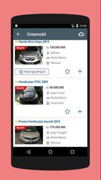 Mobil Bekas Indonesia screenshot 2