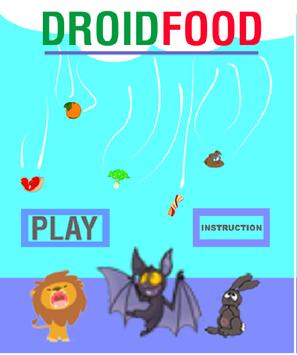 DroidFood poster