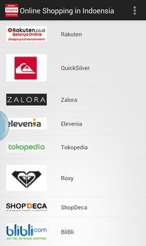 Online Shopping in Indonesia apk screenshot