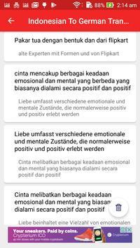 Indonesian German Translator screenshot 12