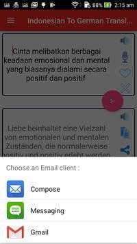 Indonesian German Translator screenshot 7
