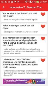 Indonesian German Translator screenshot 5