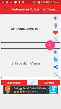 Indonesian German Translator screenshot 8