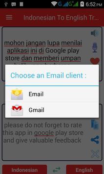Indonesian  English Translator screenshot 7