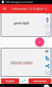 Indonesian  English Translator screenshot 9