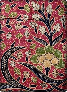 Indonesian Batik Designs poster