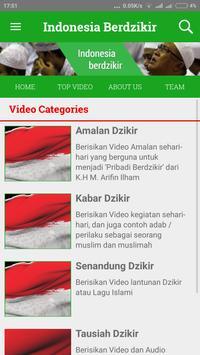 Indonesia Berdzikir poster