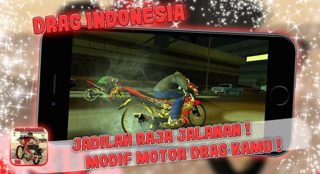 Indonesian Drag Racing Bike Street Race  - 2018 screenshot 1