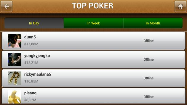 Vip Poker - Texas Holdem Poker apk screenshot