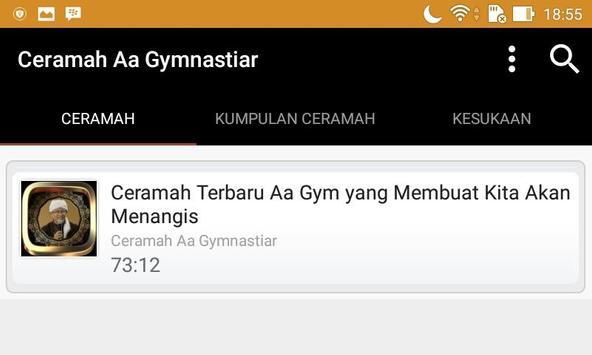 Ceramah Aa Gim Terbaru apk screenshot