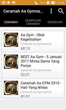 Ceramah Aa Gim Terbaru screenshot 8