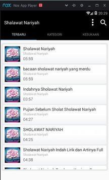 Shalawat Nariyah Terbaru Mp3 apk screenshot