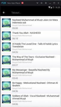 Nasyid Nabi Muhmmad Mp3 screenshot 3