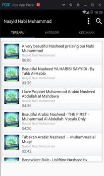 Nasyid Nabi Muhmmad Mp3 screenshot 4