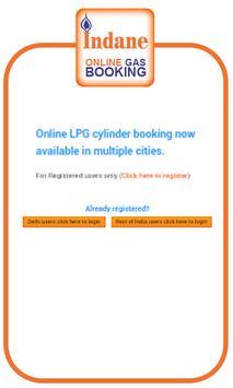 Indane GAS Online Booking apk screenshot