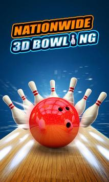 Nationwide 3D Bowling poster