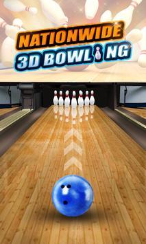 Nationwide 3D Bowling screenshot 1