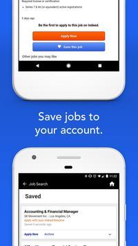 Indeed Работа скриншот приложения