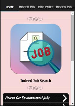 Indeed Job Search poster