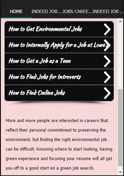 Indeed Job Search screenshot 1